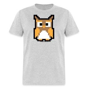 The Wooden Arcade Owl Shirt - Men's T-Shirt
