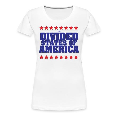 DIVIDED STATES OF AMERICA WOMEN'S TEE - Women's Premium T-Shirt