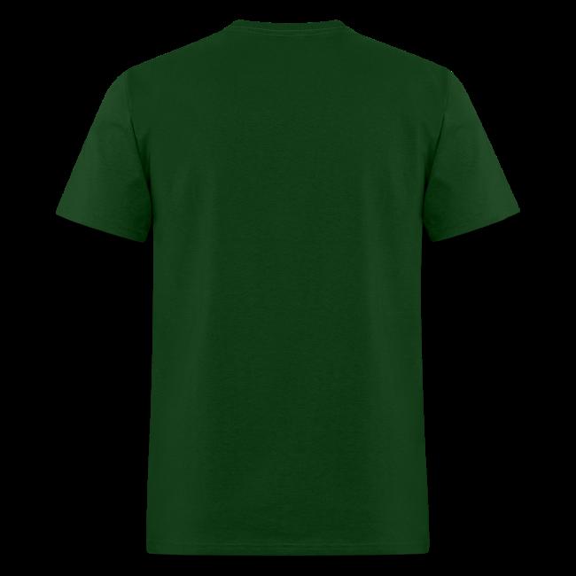 Gone Squatchin' Bigfoot Shirt - Men's - White Print