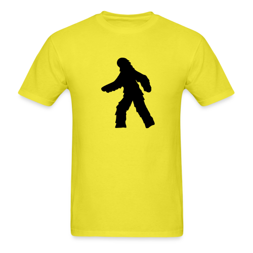 Sasquatch / Bigfoot Crossing - Men's Shirt - Black Print - Men's T-Shirt