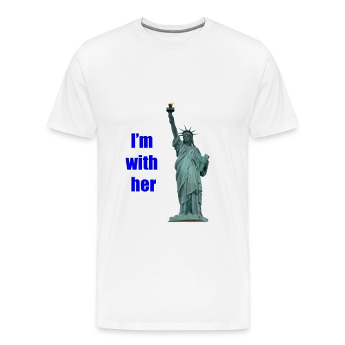 I'm with liberty - Men's Premium T-Shirt