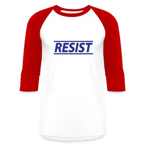 Resist - Mens Baseball Tee - Baseball T-Shirt