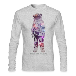 Space Man  - Men's Long Sleeve T-Shirt by Next Level