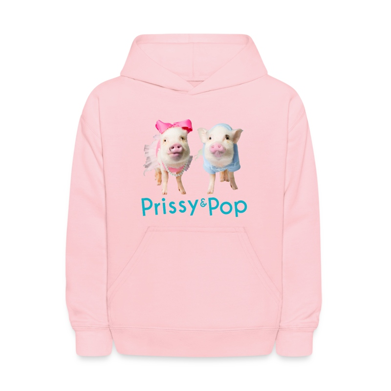 Prissy and Pop Kid's Hoodie - Kids' Hoodie