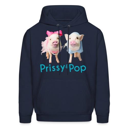 Prissy and Pop Men's Hoodie - Men's Hoodie