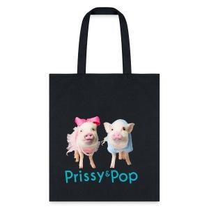 Prissy and Pop bag - Tote Bag