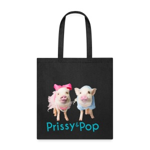 Prissy and Pop bag - Tote Bag