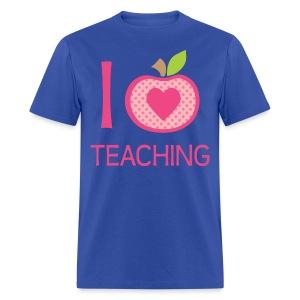 I love teaching - Men's T-Shirt
