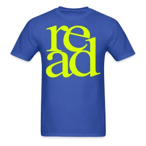 Neon Yellow Read - Men's T-Shirt