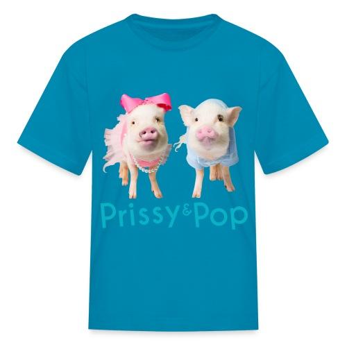 Prissy and Pop Kid's Shirt - Kids' T-Shirt