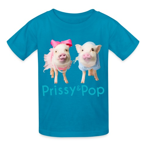 Prissy and Pop Kid's Shirt - Kids' T-Shirt