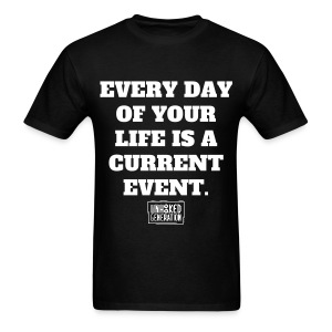 Current Event BLK - Men's T-Shirt