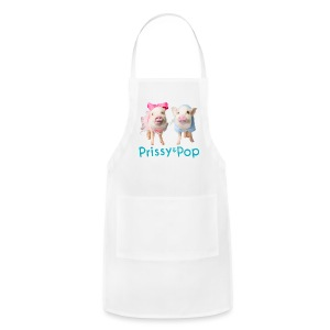Prissy and Pop Apron - Adjustable Apron