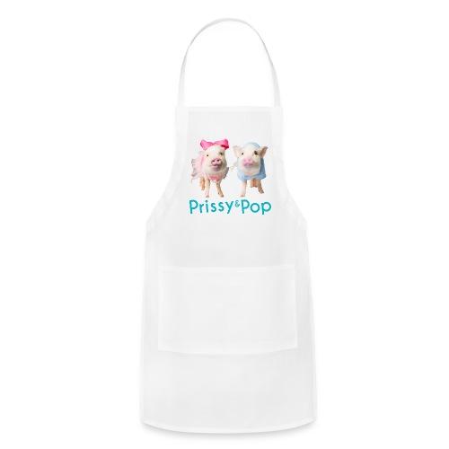 Prissy and Pop Apron - Adjustable Apron