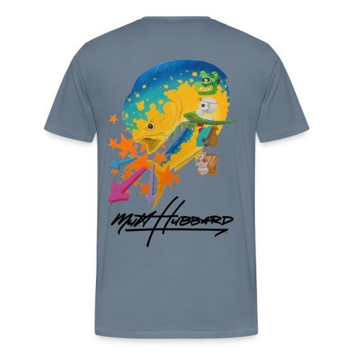 Men's Pemium Myan Mahi T-Shirt - Men's Premium T-Shirt
