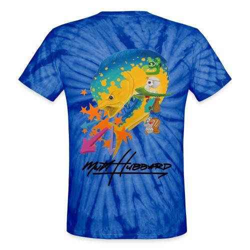 Unisex Tie Dye Myan Mahi T-Shirt - Unisex Tie Dye T-Shirt