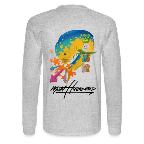 Men's Standard Myan Mahi Long Sleeve Shirt - Men's Long Sleeve T-Shirt