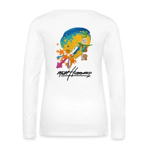 Women's Premium Myan Mahi Long Sleeve Shirt  - Women's Premium Long Sleeve T-Shirt