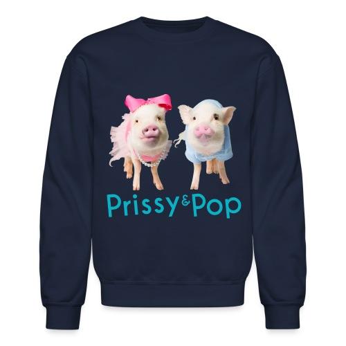 Prissy and Pop Crew Neck Sweatshirt - Crewneck Sweatshirt