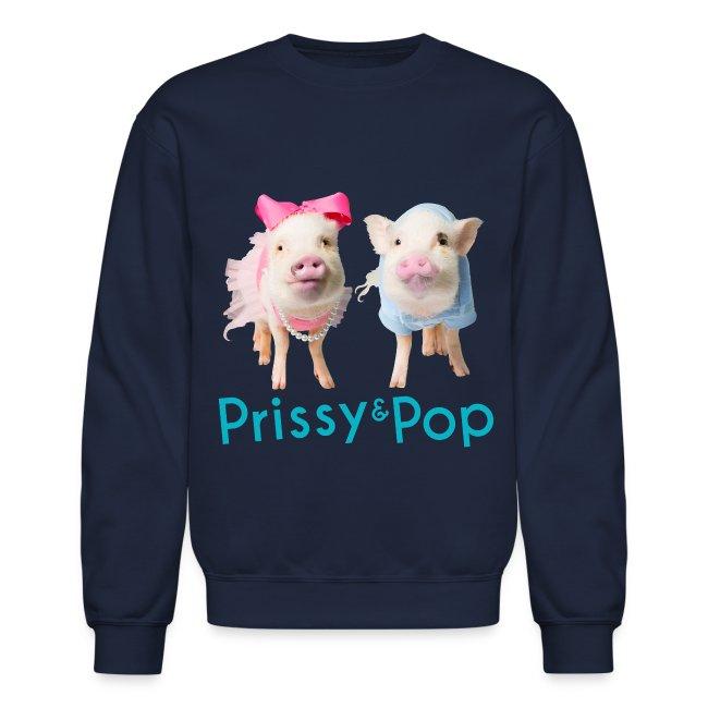 Prissy and Pop Crew Neck Sweatshirt