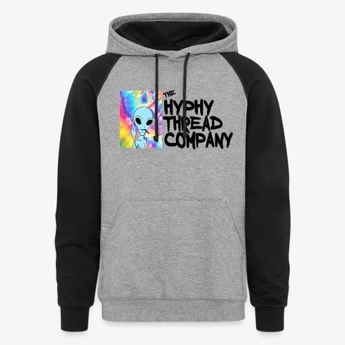 tHtc Raglan Sweater - Colorblock Hoodie