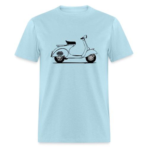 vintage vespa scooter classic 1960's - Men's T-Shirt