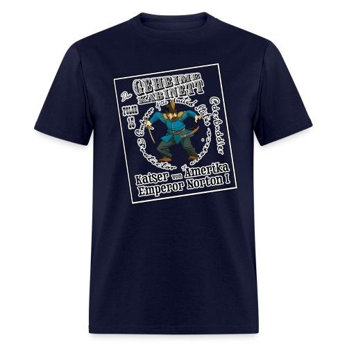 Geheime Kabinett | Kaiser von Amerika - Men's T-Shirt