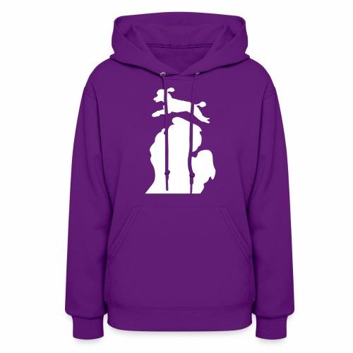 Poodle Women's hoodie - Women's Hoodie