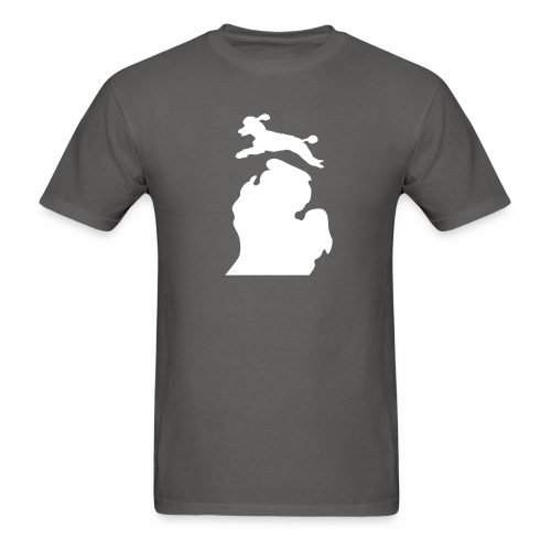 Poodle men's shirt - Men's T-Shirt