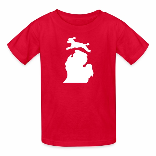 Poodle Bark Michigan Children's shirt - Kids' T-Shirt