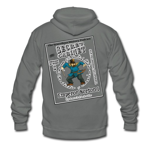 Secret Cabinet Norton Hoody - Unisex Fleece Zip Hoodie