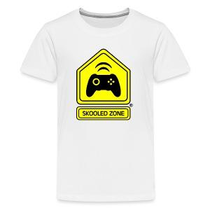 Skooled Zone Kid T-Shirt (Premium) - Kids' Premium T-Shirt