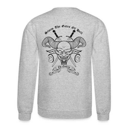 Storm The Gates of Hell (Sweatshirt) - Crewneck Sweatshirt