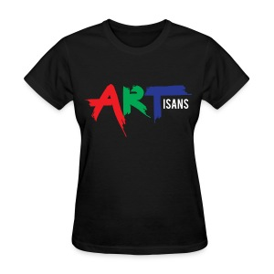 ARTisans Blacc Women's - Women's T-Shirt