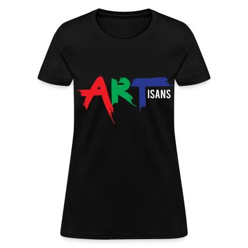 ARTisans Blacc Women's - Women's T-Shirt