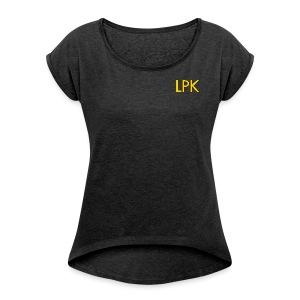 Skooled Zone Women's Short Sleeve - Women's Roll Cuff T-Shirt
