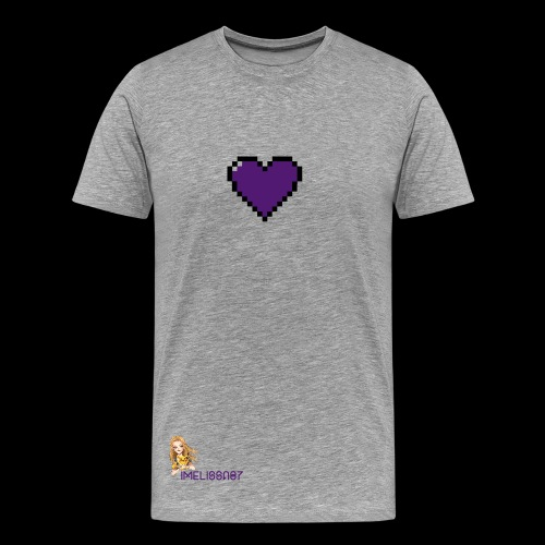 Men heart - Men's Premium T-Shirt