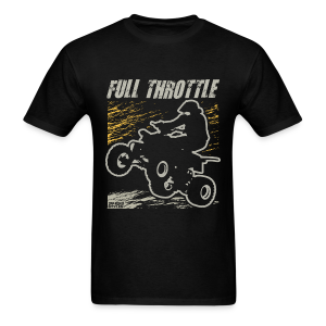 ATV Quad Full Throttle - Men's T-Shirt