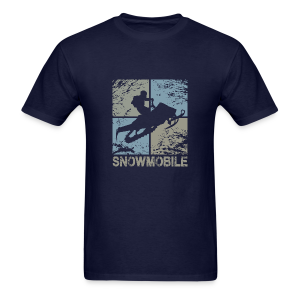 Snowmobile Squared - Men's T-Shirt