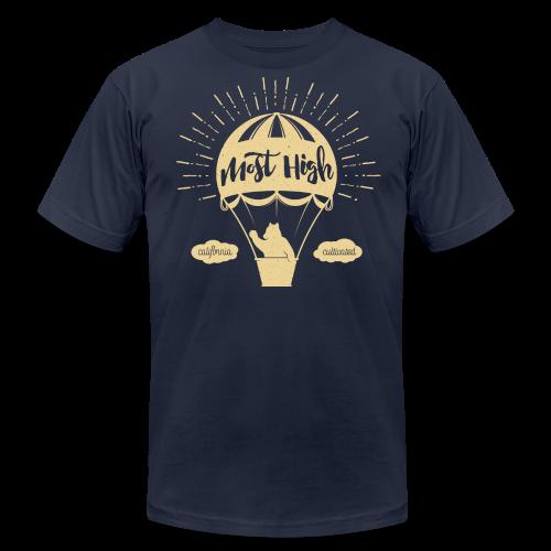 Most High_Cream - Men's Fine Jersey T-Shirt