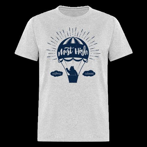 Most High_Blue - Men's T-Shirt
