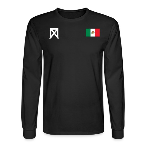Chava Nationality Long Sleeve (BLACK) - Men's Long Sleeve T-Shirt