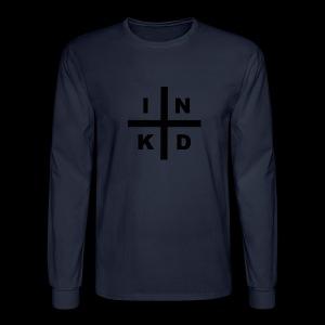 INKD Threads Logo Long Sleeve - Men's Long Sleeve T-Shirt