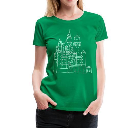Neuschwanstein Castle - Women's Premium T-Shirt