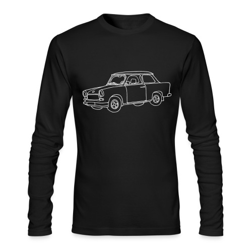 Car (Trabant) - Men's Long Sleeve T-Shirt by Next Level