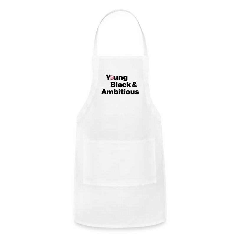 White Apron - Adjustable Apron