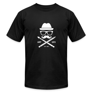 Mr. TOXICO Art & GFX Official - Men's T-Shirt by American Apparel
