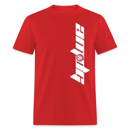 AMDG Logo-Vertical White - Men's T-Shirt