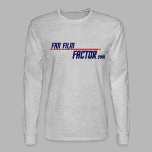 Fan Film Factor Long-sleeve - GRAY - Men's Long Sleeve T-Shirt
