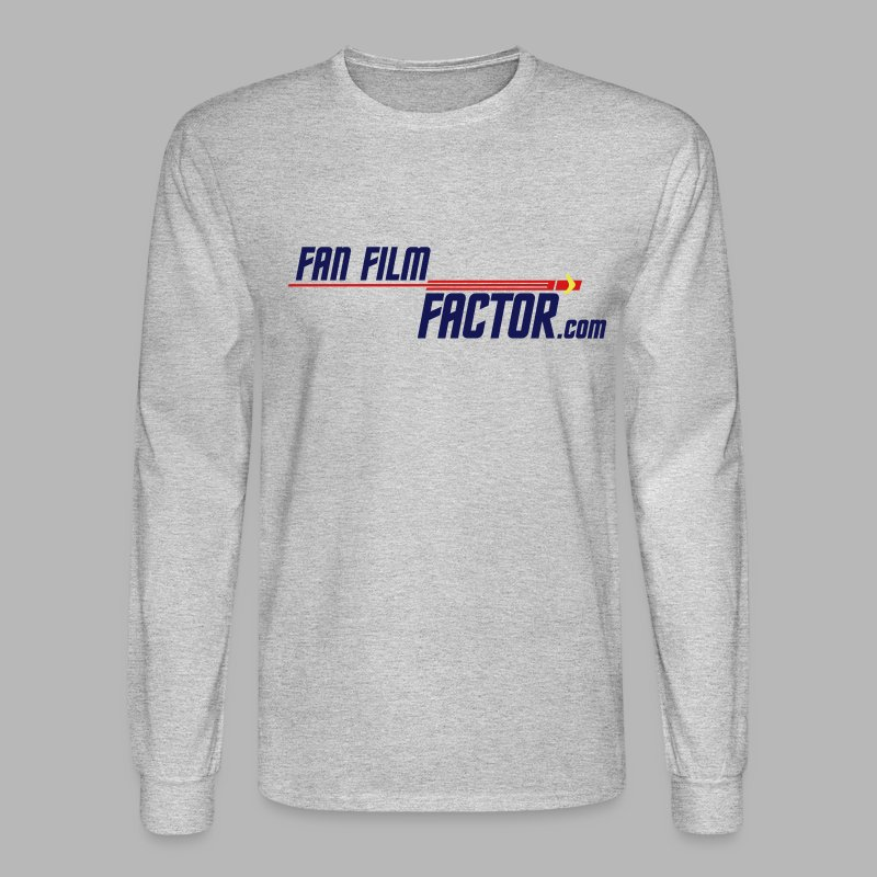 Fan Film Factor Long-sleeve - GRAY - Men's Long Sleeve T-Shirt